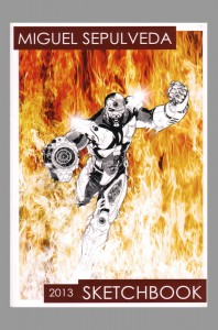 miguel-sepulveda-comic-art-sketch-book-signed-1