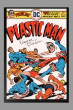 75th-anniversary-dc-comics-art-post-card-postcard-signed-signature-autograph-ramona-fradon-plastic-man-1