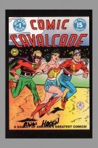 dc-comics-75-anniversary-signed-autograph-art-post-card-postcard-comic-cavalcade-wonder-woman-irwin-hasen-1