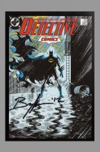 dc-comics-75-anniversary-signed-autograph-art-post-card-postcard-detective-comics-batman-norm-breyfogle-1