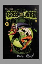 dc-comics-75-anniversary-signed-autograph-art-post-card-postcard-green-lantern-irwin-hasen-1