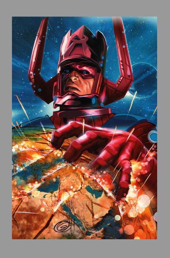Bob Thomas Ford >> Greg Horn Signed Galactus Print