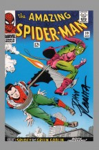 signed-signature-autograph-comic-art-post-card-postcard-vintage-art-of-marvel-john-romita-sr-amazing-spider-man-spiderman-39-1