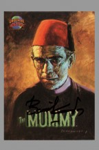topps-universal-monsters-trading-card-singned-signature-autograph-basil-gogos-boris-karloff-the-mummy-1