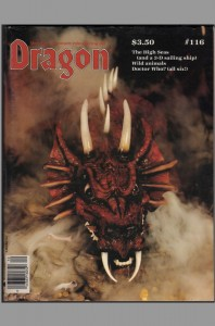 dragon-magazine-signed-signature-autograph-larry-elmore-fantasy-art-tsr-dungeons-and-dragons-rpg-116-snarfquest-snarf-1