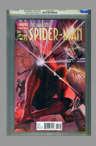 amazing-spiderman-spider-man-cgc-ss-stan-lee-signed-humberto-ramos-variant-return-of-peter-parker-first-day-issue-fdi-release-alex-ross-cover-2