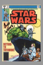 carmine-infantino-star-wars-signed-signature-autograph-vintage-comic-art-of-postcard-post-card-4