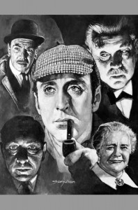 sanjulian-original-art-oil-painting-signed-sherlock-holmes-basil-rathbone-1