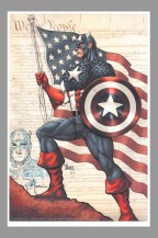 signed-signature-autograph-billy-tucci-original-comic-art-sketch-on-print-captain-america-marvel-comics-1