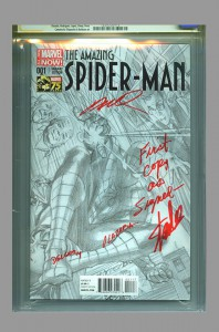 amazing-spiderman-spider-man-1-cgc-ss-signed-stan-lee-first-day-issue-of-release-alex-ross-sketch-variant-1-art-2