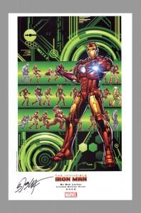 bob-layton-marvel-comics-art-print-signed-signature-autograph-iron-man-2