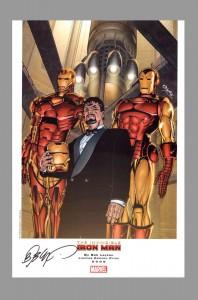 bob-layton-marvel-comics-art-print-signed-signature-autograph-iron-man-4
