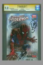 cgc-ss-amazing-spider-man-spiderman-1-game-stop-gamestop-fade-variant-signed-stan-lee-greg-horn-dan-slott-1