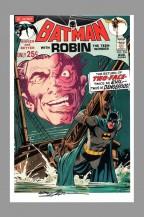 neal-adams-signed-signature-autograph-comic-art-print-batman-two-face-1