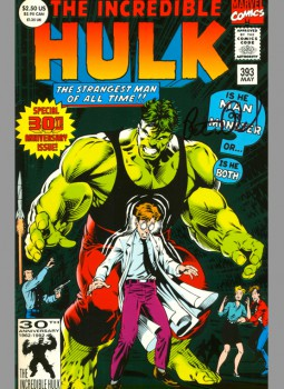 incredible-hulk-393-signed-autograph-peter-david-anniversary-issue-1