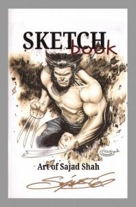 sajad-shah-signed-comic-art-sketch-book-wolverine-x-men-1