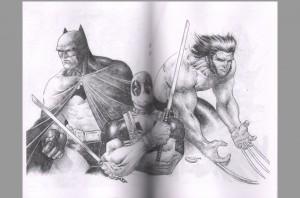 sajad-shah-signed-comic-art-sketch-book-wolverine-x-men-deadpool-batman-4