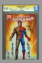 cgc-ss-fdi-first-day-issue-release-amazing-spiderman-spider-man-john-romita-sr-art-dan-slott-stan-lee-cobra-variant-1
