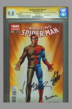 cgc-ss-fdi-first-day-issue-release-amazing-spiderman-spider-man-john-romita-sr-art-dan-slott-stan-lee-cobra-variant-humberto-ramos-1
