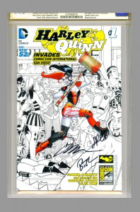 harley-quinn-cgc-ss-signed-amanda-conner-jimmy-palmiotti-bruce-timm-jim-lee-sdcc-san-diego-comic-con-comicon-invades-signed-signature-autograph-2