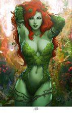 batman-poison-ivy-signed-sideshow-exclusive-art-print-Stanley-Artgerm-Lau-2