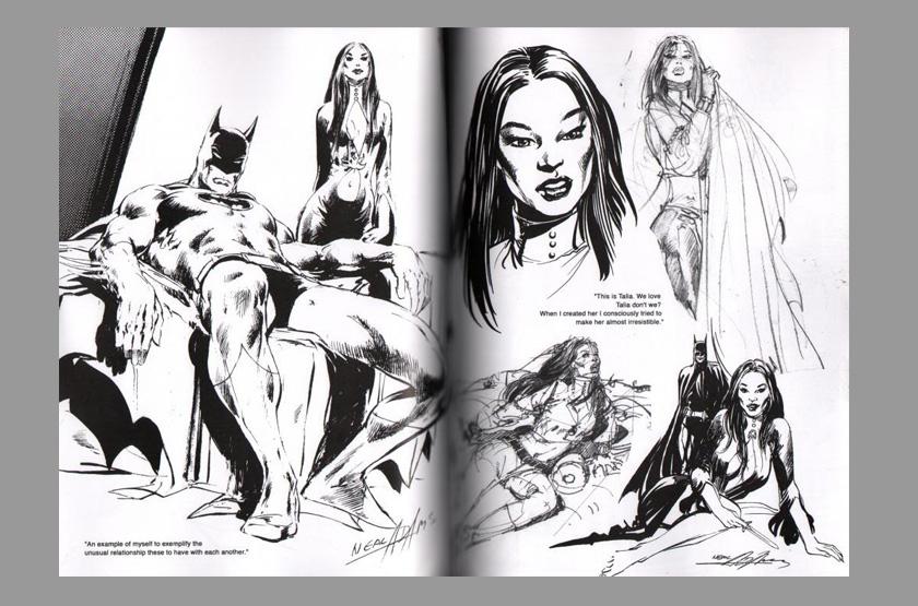 El arte del comic y la ilustración Neal-adams-signed-signature-autograph-art-sketch-bookrowdy-beautiful-women-2