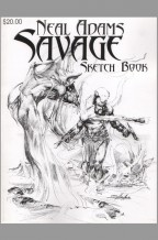 savage-neal-adams-signed-signature-autograph-art-sketch-book-1