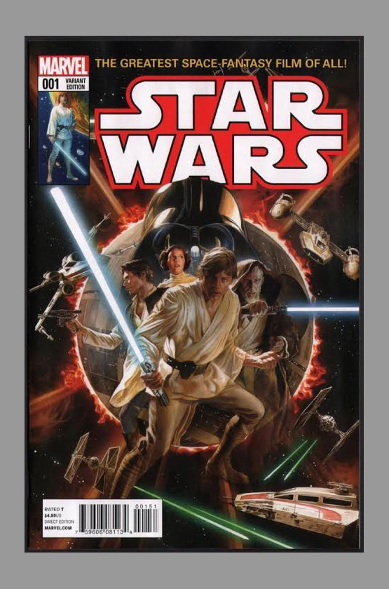 star wars 1 variant art cover 1 50 alex ross. Black Bedroom Furniture Sets. Home Design Ideas