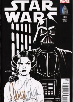 carrie-fisher-signed-star-wars-amanda-conner-variant-sketch-cover-1-leia-1