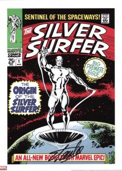 silver-surfer-1-signed-stan-lee-art-print-autograph-signature-fine-art-1