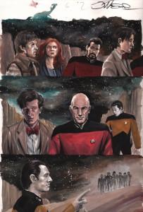 jk-woodward-star-trek-doctor-who-idw-assimilation2-art-original-1