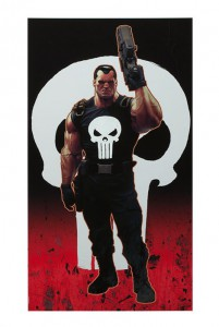 punisher-sideshow-exclusive-art-print-ariel-Olivetti-signed-signature-autograph-1