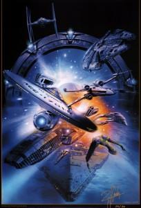 sanda-signed-art-print-star-wars-trek-stargate-battlestar-galactica-1