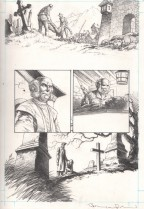 bernie-wrightson-signed-signature-autogrape-original-art-page-city-of-others-horror-steve-niles-5