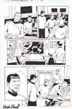 star-trek-year-four-4-idw-original-comic-art-kirk-spock-1