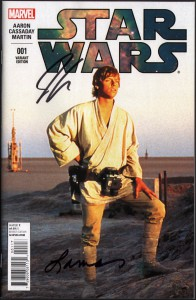 star-wars-marvel-comics-variant-cover-signed-signature-autotraph-jason-aaron-laura-martin-luke-photo-movie-1