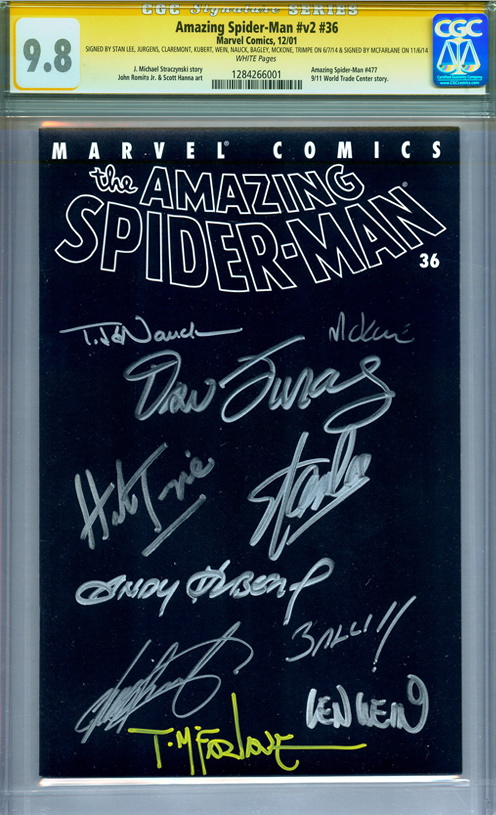 amazing-spiderman-world-trade-center-story-cgc-ss-signed-stan-lee-todd-mcfarlane-mark-bagley-herb-trimpe-chris-claremont-andy-kubert-len-wein-1