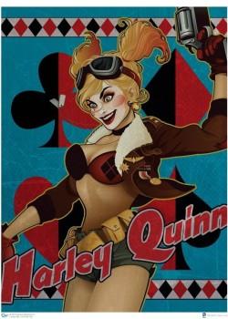 ant-lucia-signed-signature-autograph-dc-direct-art-poster-print-joker-batman-harley-quinn-1