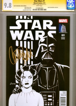 cgc-ss-signed-signature-autograph-carrie-fisher-amanda-conner-variant-cover-art-sketch-variant-cover-vault-collectibles-vaultcollectibles-1