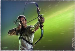 jason-palmer-signed-cw-arrow-green-comic-art-print-tv-series-1