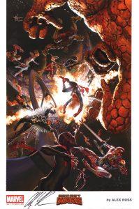 sdcc-san-diego-comic-con-exclusive-exc-signed-art-print-2015-alex-ross-art-marvel-comics-portfolio-signature-autograph-secret-wars-hulk-spider-man-spiderman-iron-man-1