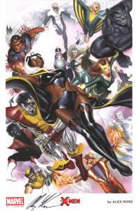 sdcc-san-diego-comic-con-exclusive-exc-signed-art-print-2015-alex-ross-art-marvel-comics-portfolio-signature-autograph-x-men-wolverine-storm-1