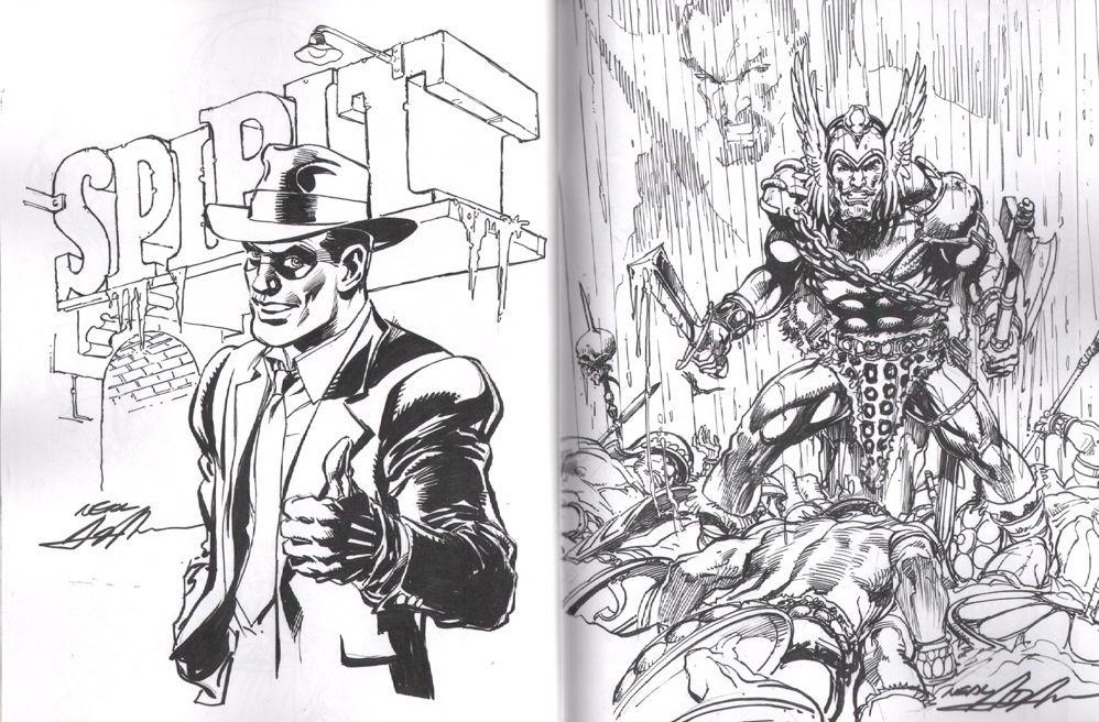 Neal adams batman sketch