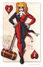 Billy Tucci Remarqued Art Print ~ Harley Quinn Comic Art