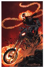 neal-adams-signed-signature-autograph-art-print-ghost-rider-marvel-comics-1