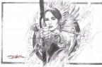 neal-adams-signed-signature-autograph-art-print-katness-everdeen-hunger-games-1