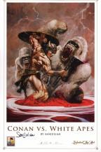 sanjulian-signed-signature-autograph-conan-vs-white-apes-art-print-1