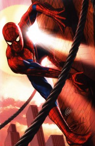 signed-signature-autograph-comic-art-print-greg-horn-amazing-spiderman-spider-man-1