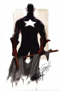 signed-signature-autograph-comic-art-print-greg-horn-captain-america-avengers-1