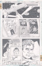 gordon-purcell-signed-star-trek-original-art-page-dc-comics-captain-kirk-mr-spock-1page-issue-33-1